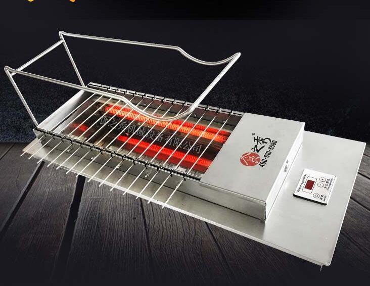 很久以前自动旋转电烤炉商用图片