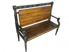 食之秀龙头椅批发 烧烤店实木靠背椅 烧烤桌椅定做加工