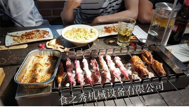 上海三个蒙古大叔烤羊肉串烤炉多少钱,食之秀专利碳烤炉,上海三个蒙古大叔烤羊肉串木炭烧烤炉
