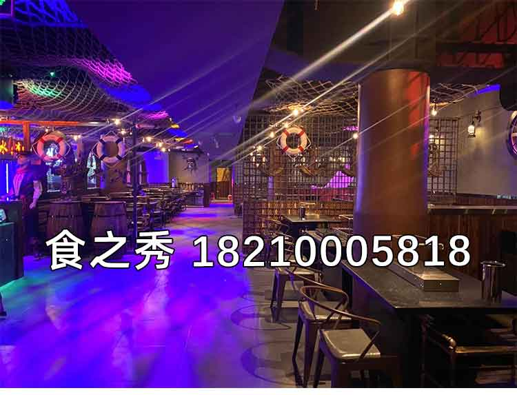 串越时光客户案例-广东省广州市小钟哥主题烤吧