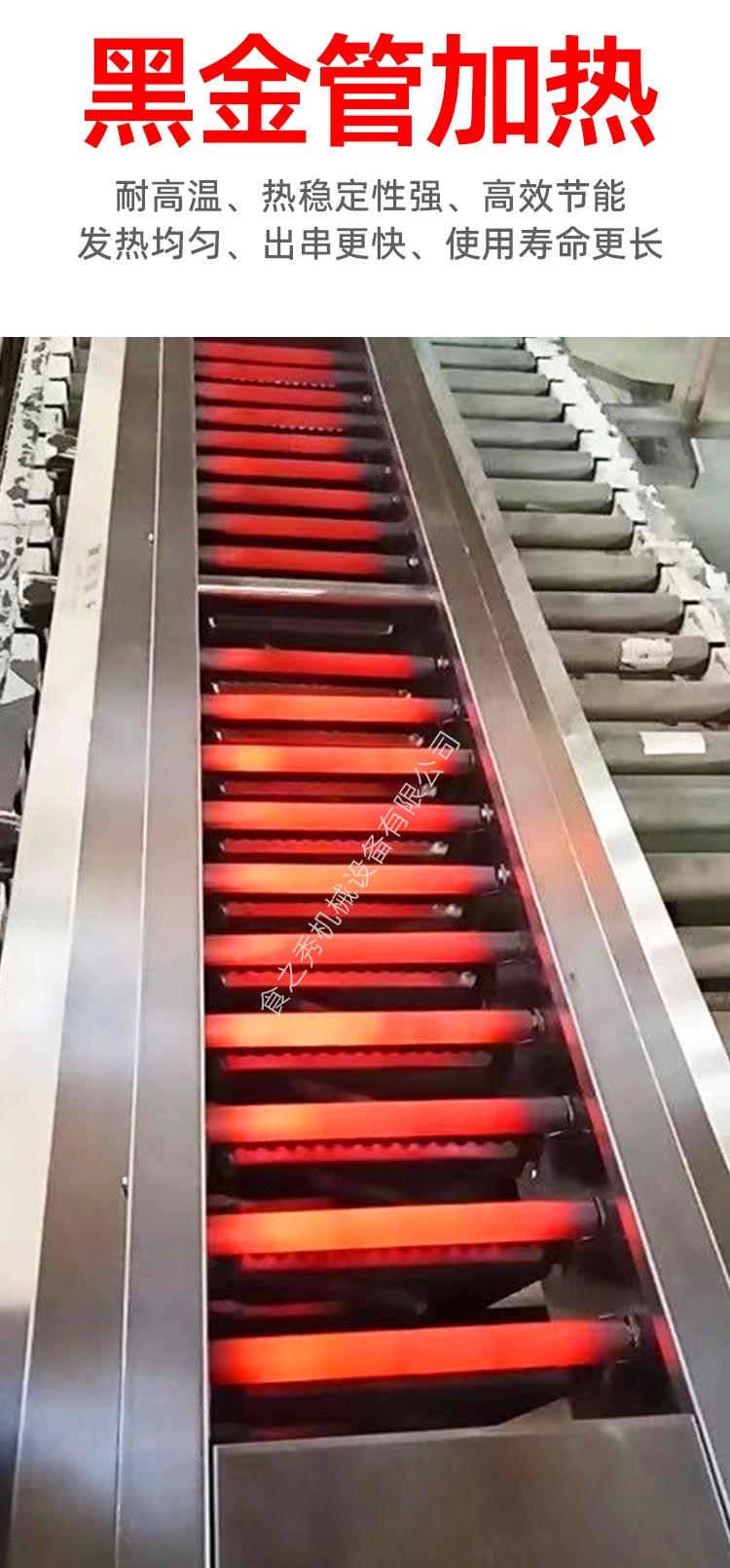 自动电烤炉厂家,自动旋转电烤串炉,很久以前电烤串炉