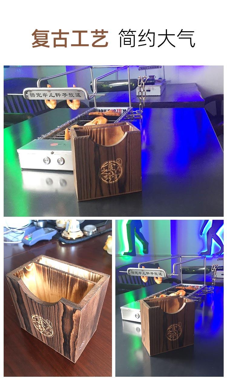 食之秀碳化木抽纸盒纸巾盒使用示例