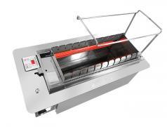 食之秀11串商用全自动翻转电热烧烤炉 商用自动电烤炉 多功能电热烧烤炉