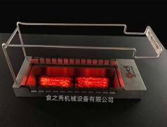 火山石电烤炉多少钱一台?烧烤店用的全自动转火山石烧烤炉去哪里买