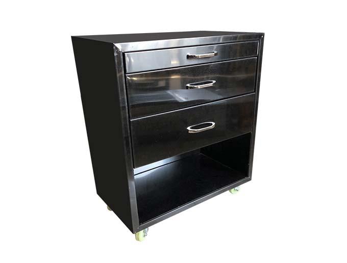 食之秀不锈钢餐具柜 餐边柜 自助式烧烤店火锅店专用边柜