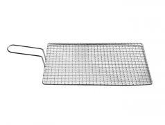 食之秀烧烤烤网 烧烤网格篦子 烧烤网片 方形烧烤网 烤肉网 海鲜烤网