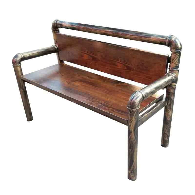 仿铜管椅  后工业时代风格单椅 烧烤店用桌椅批发