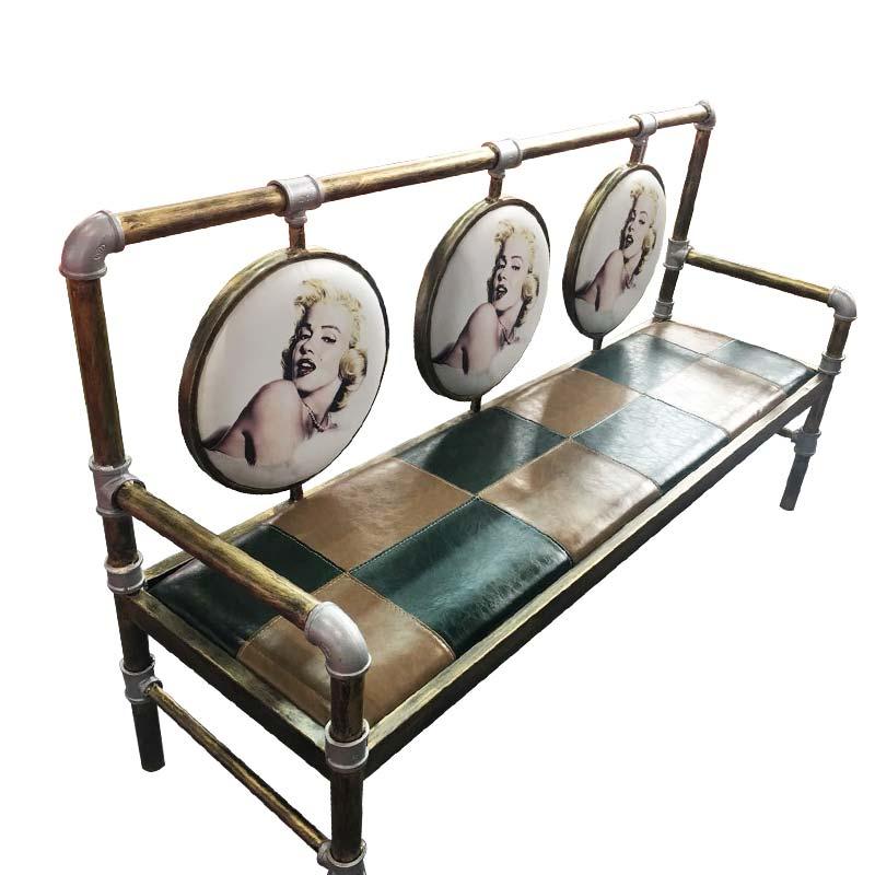 食之秀好莱坞太阳椅 烧烤店桌椅定做加工