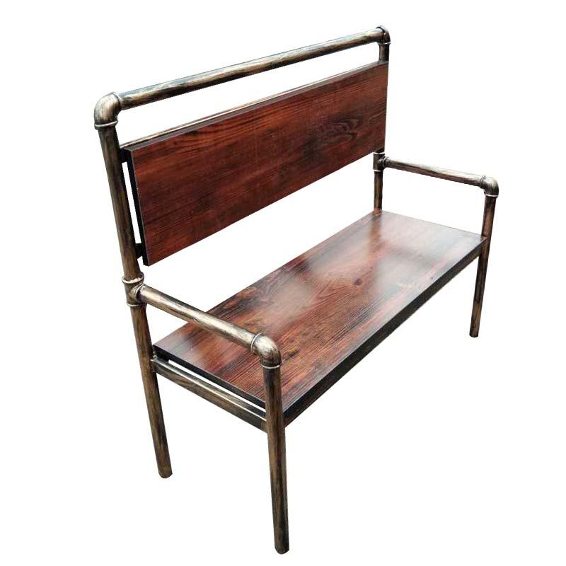食之秀仿铜管椅  后工业时代风格单椅 烧烤店用桌椅批发