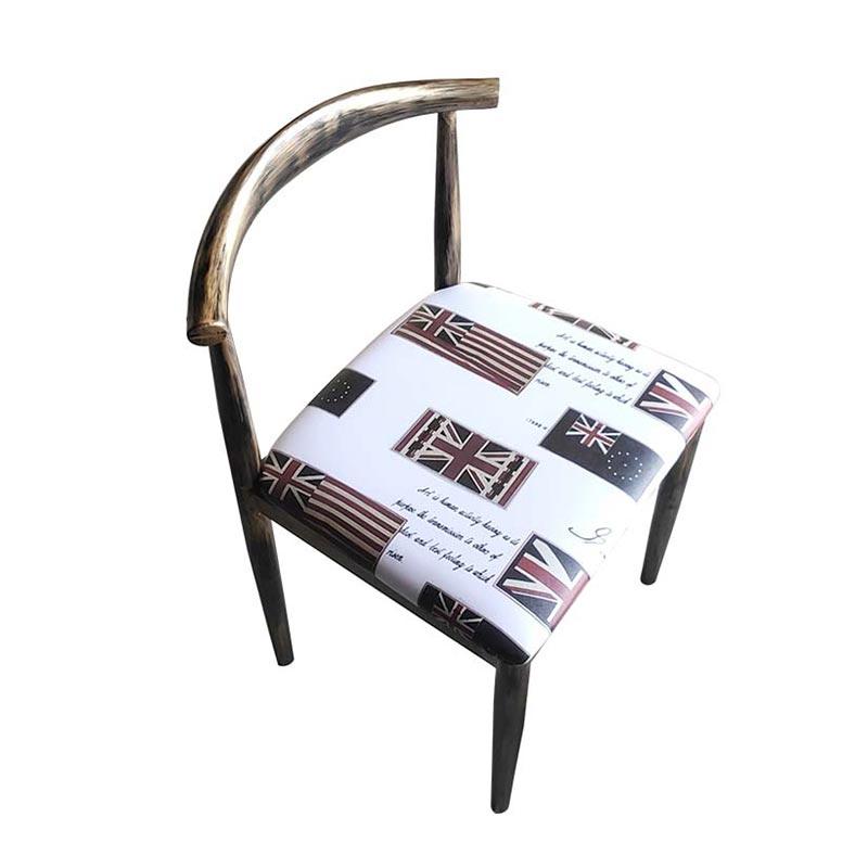 食之秀开放式木椅 烧烤餐椅 单椅 烧烤店桌椅定做批发