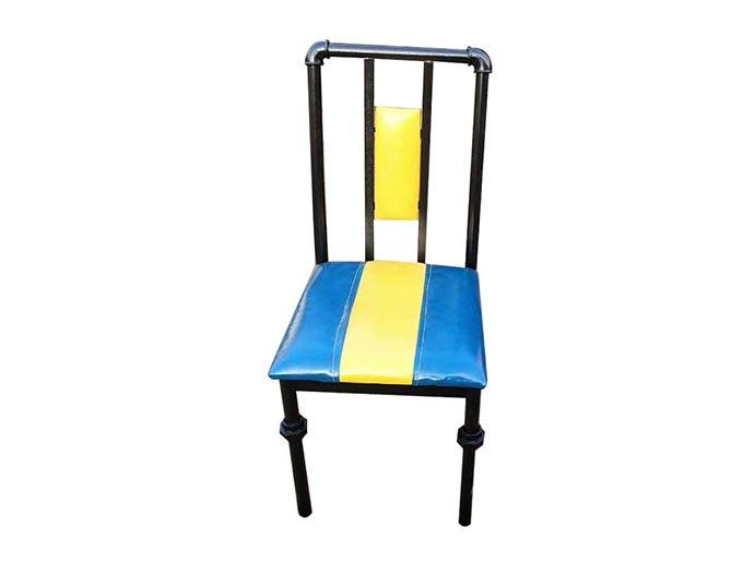 食之秀铁艺烧烤椅 铁艺单椅 烧烤餐椅 烧烤桌椅批发定做