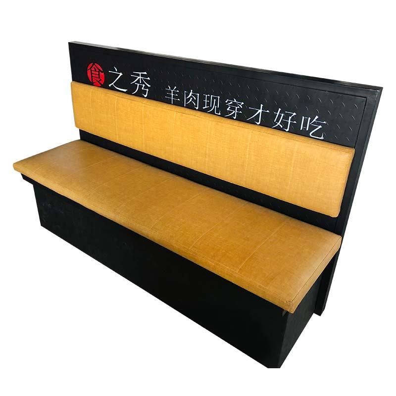 软包卡座,食之秀创意软包卡座,烧烤店卡座批发,烧烤店桌椅定做加工