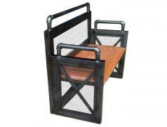 食之秀软座靠背长椅 烧烤店桌椅定做批发