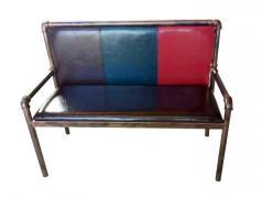 食之秀软包铁管长椅 烧烤店用桌椅定做批发