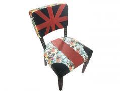食之秀软包米字单椅 英伦风格 皇室享受 烧烤店专用桌椅设备批发
