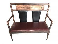 一签一故事 一串一江湖 食之秀铁艺烧烤长椅
