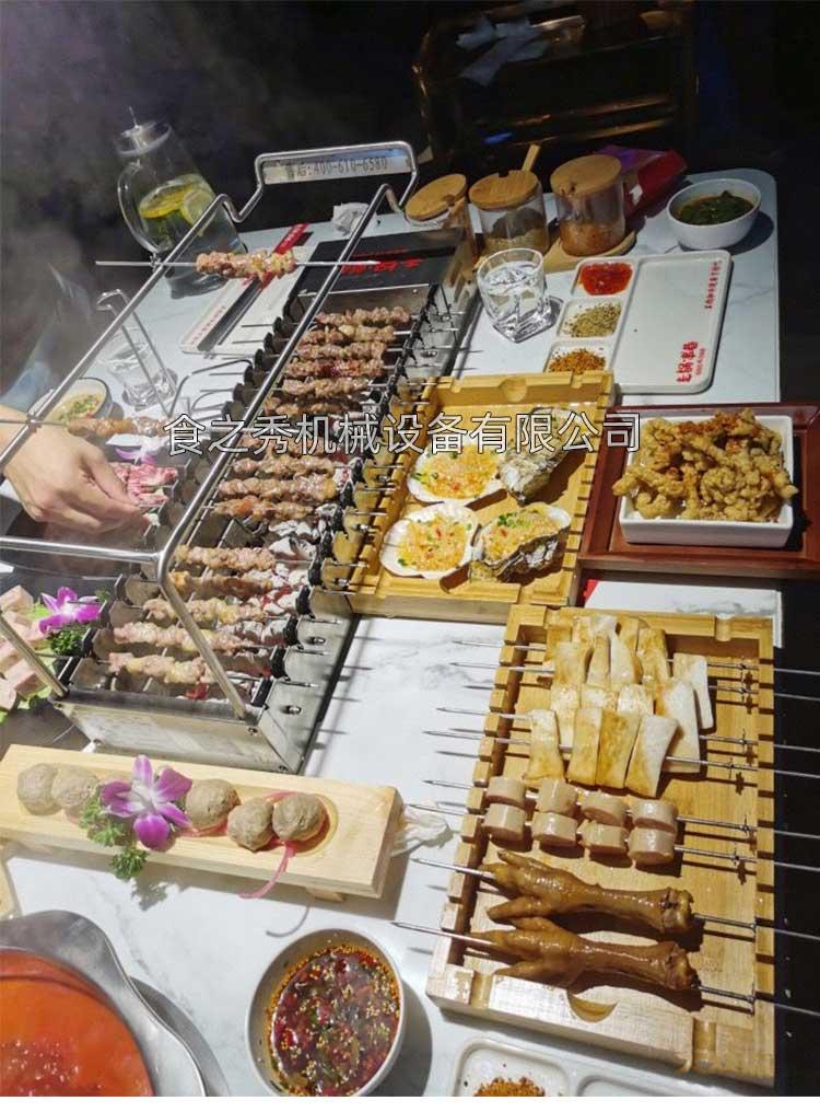 上海走锅串巷烧烤加盟可以吗,上海走锅串巷自助烧烤加盟利润多少