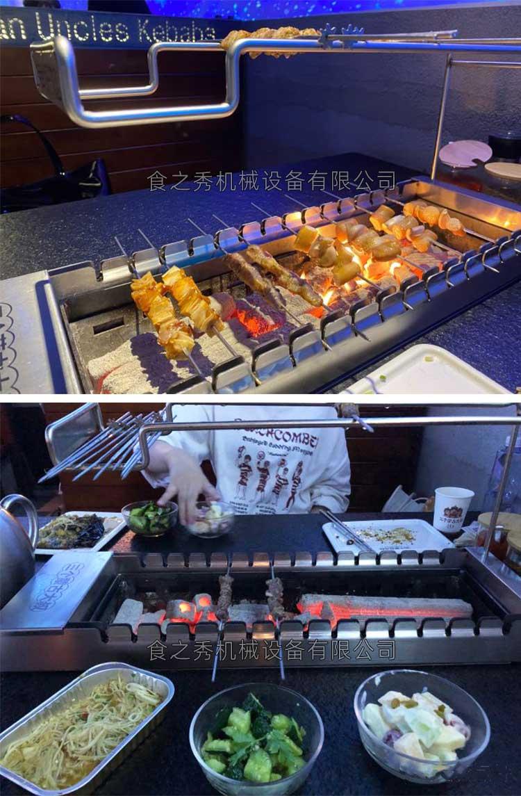 串越时光上海客户三个蒙古大叔烤羊肉串