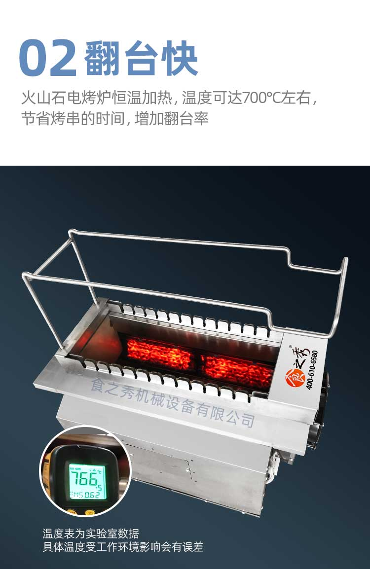 很久以前火山石电烤炉价格,全自动翻转火山石电烧烤炉多少钱一台