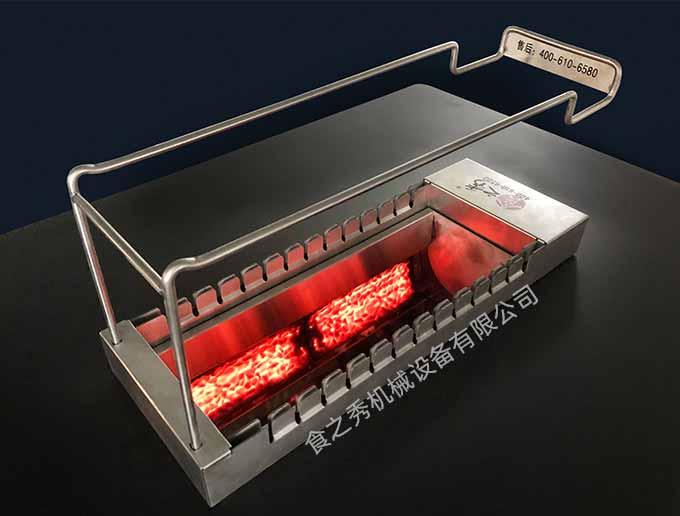 全自动翻转火山石电烤炉 自助式烧烤店的好帮手!