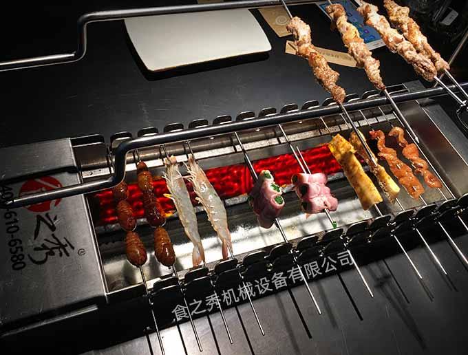 牛肋条烤串的好吃做法 怎么用自动烧烤炉烤制牛肋条烤串